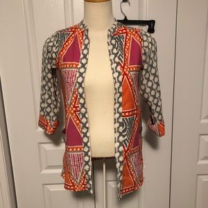 2/$20 H&M colourful open cardigan
